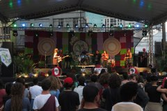 Show da banda Taiobas na 18a Jornada de Agroecologia. Foto: Luiza Damigo/ABA-Agroecologia.