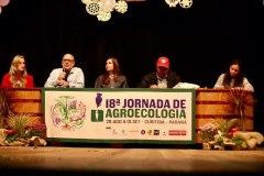 """2019-08-30 Conferência """"A ciência, as sementes e o alimento na construção do Projeto Popular e Soberano para a Agricultura"""""""
